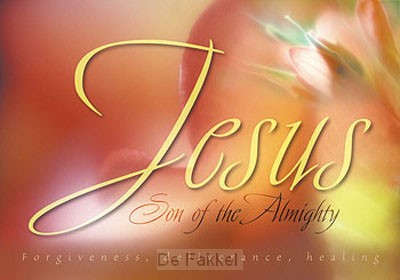 Poster a4 Jesus Son of the Almighty