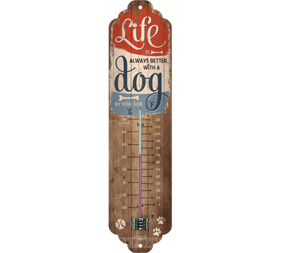 buitenthermometer Better with a dog