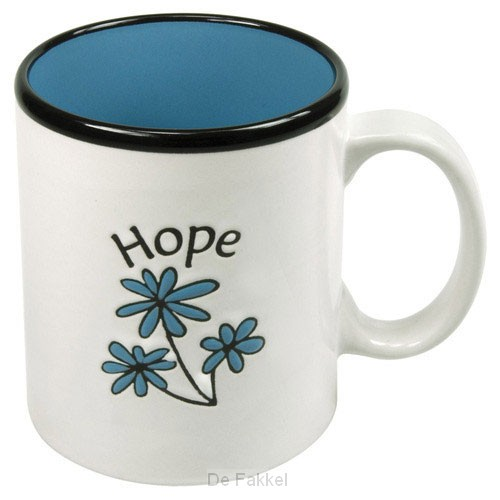 Hope (Mug) White - Blue