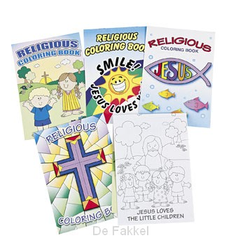 Religious coloring books set12