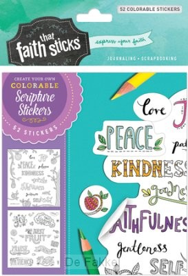 Stickers galaten 5:22-23